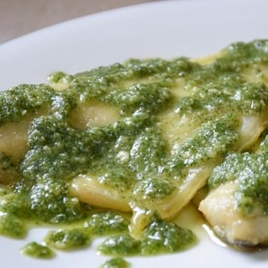 FILETTO DI ORATA AL PESTO